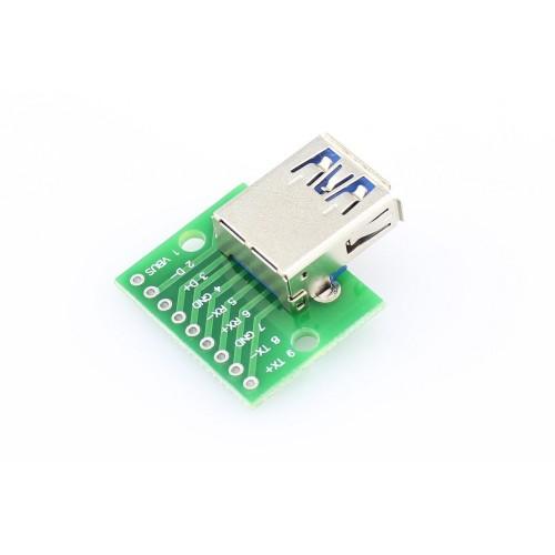 USB 3.0 Type-A Female Connector Breakout Board-500x500.jpg